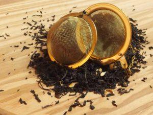 Sort te med bergamotte olie og orange blomst der tilsammen giver en dejlig frisk smag.