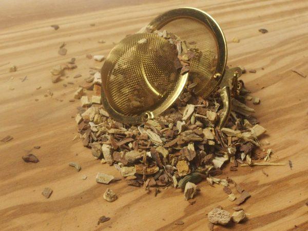 En urte te blandet efter den Indiske ayurvediske lærdom. En krydret te med sødme fra lakridsrod med en fyldig smag.