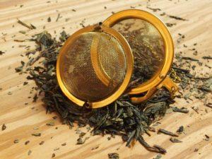 grøn te fløde
