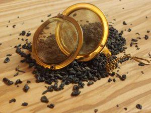 En fornem perlete fra Zhejiang provinsen, som giver en aromatisk te, sød græsagtig smag, meget delikat. Bliver let bitter
