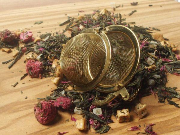 madame pinks grønne te blanding