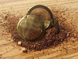 Rooibos urte te fra Sydafrika. en ret sødlig blanding med toffee smag. Indeholder karamelstykker