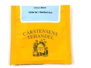 Tebrev med Cool Mint til undervejs eller bare til en enkelt god kop te.