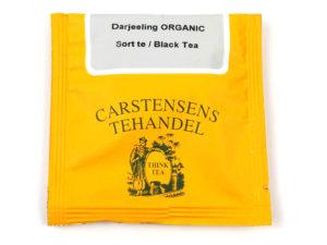 Tebrev med Økologisk Darjeeling Te til undervejs eller bare til en enkelt god kop te.
