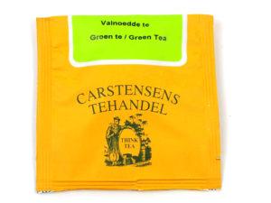 Tebrev med Grøn Valnødde te til undervejs eller bare til en enkelt god kop te.