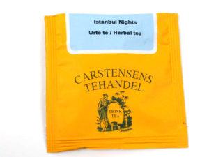 Tebrev med Istanbul Nights ® til undervejs eller bare til en enkelt god kop te.