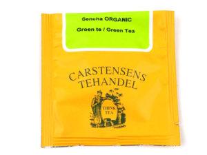 Tebrev med Sencha Japan til undervejs eller bare til en enkelt god kop te.