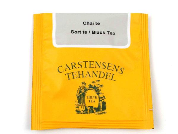 Tebrev med Chai te til undervejs eller bare til en enkelt god kop te.