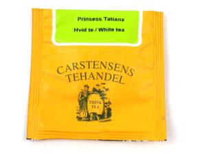 Tebrev med Hvid te med Prinsesse Tatiana til undervejs eller bare til en enkelt god kop te.