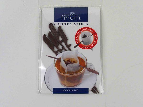Pind til tefilter. Pakke indeholder 4 pinde