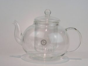 Tekande fra Bredemeijer i glas. Tesi i glas medfølger. Volumen 0,5 liter og 1,0 liter
