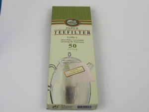 Tefilter til kander. Ekstra lang. Pakke indeholder 50 stk.
